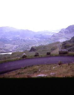 Blaenau Festiniog (1973)  Located in the mountains of Snowdonia, the town was once a centre of the Welsh slate mining industry. This industry declined during the early 20th century. The town's economy is now largely dependent on tourism. Although the town is in the centre of the Snowdonia National Park, the boundaries of the Park are specifically arranged to omit the town with its substantial slate waste heaps from the Park.