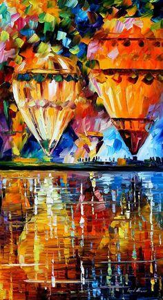 IMAGASM: Balloon Reflection by Leonid Afremov