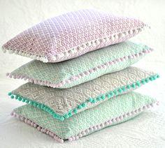 Hand made cushions..