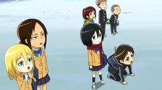 Shingeki! Kyojin Chuugakkou Episode 1 - Starting School! Titan Junior High School