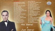 Ana Gabriel Juan Gabriel Exitos Mix 2016    Los Mejores Exitos Mix - Bal...