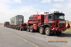 Heavy hauled truck