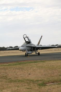 Royal Australian Air Force F/A 18 Hornet. Temora Air Show November 2013.