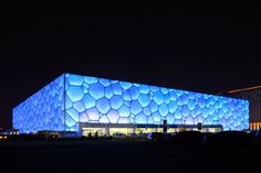 Water Cube - Beijing, China by PTW Architects