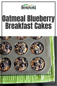 Learn How To Make The Oatmeal Blueberry Breakfast Cakes Recipe From Festival Foods