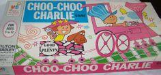 MILTON BRADLEY: 1968 Good and Plenty Choo-Choo Charlie Game