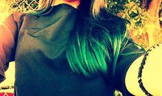 #cabello #verde