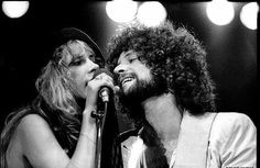 Stevie was my woman. When we would perform, she would have all of these men staring at her. Yes, you could say I was a little jealous.   — Lindsey Buckingham