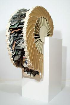 文과 字의 집 :: 책 조각가 브라이언 디트머의 작품 세계