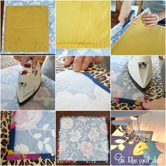 DIY Cloth Napkins - The Blue Eyed Dove