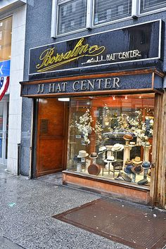 My Favourite Hat Shop, New York