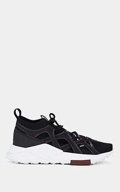 aab4adcd9c0fe Puma Men s Les Benjamins Mesh   Neoprene Sneakers - Black