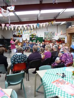 The Memory Choir performing at Cronkshaw Fold Farm in Helmshore