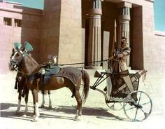Reconstruction of an Egyptian chariot