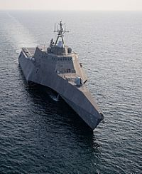 Littoral combat ship USS Independence (LCS departed Naval Station Mayport April embarking on the ship's maiden Us Navy Ships, Navy Military, Big Guns, Yacht Boat, United States Navy, Military Weapons, Military Equipment, Aircraft Carrier, War Machine