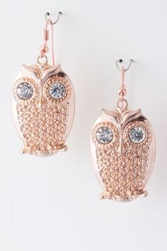 How many licks does it take to get to the center of these earrings?