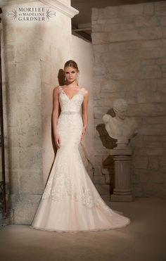 The 2015 Mori Lee collection is here! #weddingdress #bridal 2715 from Mori Lee