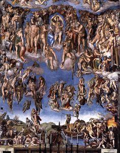 최후의 심판, 미켈란젤로, 1541