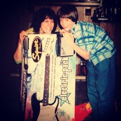 Ell and his mom on Christmas
