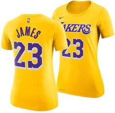 eaa1673af Nike Women s LeBron James Los Angeles Lakers Name  amp  Number Player T-Shirt  Lebron