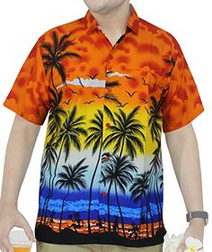 39f402cd Hawaiian Print Shirts, Men Store, Backyard, Amazon, Men Casual, Beach,  Printed, Patio, Amazons