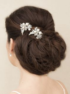 Hair Comes the Bride - Rhinestone