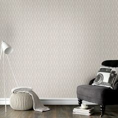 Graham & Brown offer the most striking geometric wallpaper on the market. Shop our wide-ranging collection of geometric wall coverings to suit any design. Geometric Wallpaper Home, Grey Wallpaper Designs, Honeycomb Wallpaper, Grey Removable Wallpaper, Trellis Wallpaper, Silver Wallpaper, Retro Wallpaper, Textured Wallpaper, Wall Wallpaper