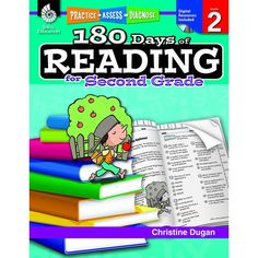 This resource provides second grade teachers and parents of second grade students with 180 daily practice activities to build and gauge students' reading comprehension and word study skills. Great for