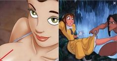 Inappropriate 'Adult' Scenes That Were Hiding In Your Favorite Disney Cartoons.