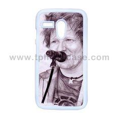 Moto G Durable Hard Case Design With Ed Sheeran