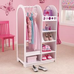 Let's Play Dress Up Storage Unit - Kids Storage - Storage & Display | HomeDecorators.com