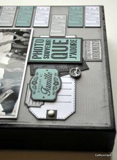 Préparons Noël J3 : Home déco par Cathyscrap85 - Florilèges Design Scrapbook Albums, Scrapbooking, Home And Deco, Notebook, Photos, Blog, Pictures, Scrapbooks, Blogging