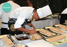 ¡El trabajo de un chef! | #catering #banquetes #cafemarielle #cocina #cocinamexicana