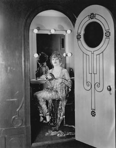 Mae Murray but it's the door that I like
