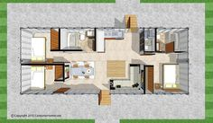 container homes design | Designs and blueprints available FOR SALE - Shipping Container Homes                                                                                                                                                                                 More