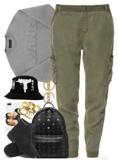 """Untitled #1205"" by power-beauty ❤ liked on Polyvore featuring Zara, MCM, Timberland and UZI"