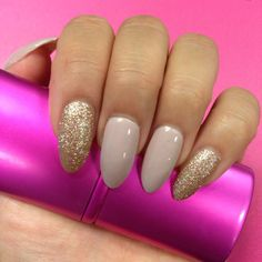 Loving my almond shaped nails. Instagram: elizzzaabeth