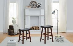 Home Elegance Counter Height Stool 5323-24