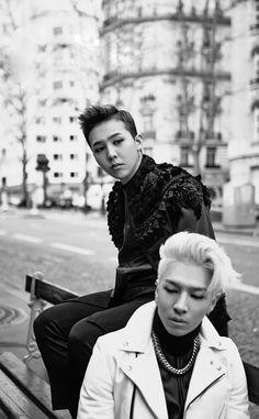 Taeyang and GD