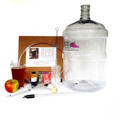 Complete Beer Making Equipment Kit 5 Gallons - MIY Kits Brew Your Own Beer, Beer Making Kits, How To Make Beer, Drink Bottles, Brewing, Drinks, Drinking, Beverages, Drink
