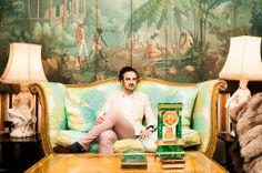 Lorenzo Castillo en su casa de Madrid