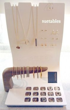 Custom point-of-purchase display made in collaboration with designer/architect Mark Tholen.