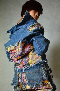 Upcycled Clothing Ideas | ball christmas ornament upcycled jeans is that has an inner ...