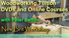 A number of viewers have asked me about woodworking tuition and courses. I do not take on any teaching here at The New Brit Workshop but I do know someone wh...