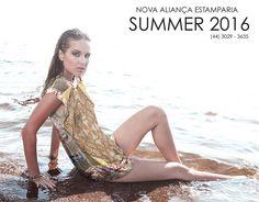 Estampa criada para coleção Verão 2016 Nova Aliança (estampas e publicidade))
