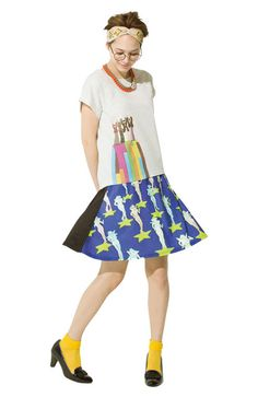 haco. [ハコ] THE BEATLES YELLOW SUBMARINE Tシャツの会 フェリシモ