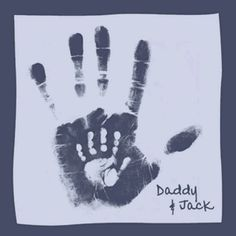Dad & Baby Handprints