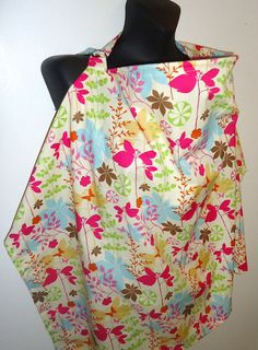 Nursing Cover/ breastfeeding cover/ baby cover up OVER 50 fabric patterns to CHOOSE from