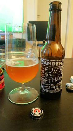 Flue Faker Smoked Lager - Camden Town Brewery