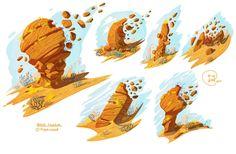 ArtStation - Rock Formations, Ryan Winch